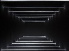 guillaume marmin's immersive installation is an exploration between light and space Shadow Architecture, Theatre Architecture, Stage Lighting, Neon Lighting, Lighting Design, Club Design, Book Design, Der Pianist, Airport Design