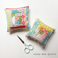 crazy mom quilts: 108