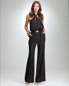 Halter Neck Jumpsuits For Women, Halter Neck Wide Leg Jumpsuit
