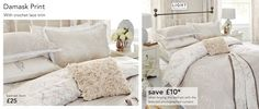 """Bed Linen - Page 5 Wedding bed linen. I have a love for bed linen as it is. And to have one as a special reminder periodically throughout the year of our """"big moment"""" would be a lovely idea."""