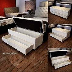Shoe Storage Furniture, Space Saving Furniture, Bedroom Decor For Couples, Room Ideas Bedroom, Modern Bedroom Design, Home Room Design, Table Decor Living Room, Interior Decorating Tips, Luxurious Bedrooms