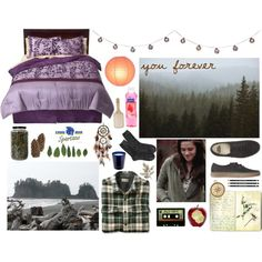 Bella Swan / Bedroom Decor by keepsmiling184 on Polyvore featuring interior, interiors, interior design, home, home decor, interior decorating, Nest, Crate and Barrel, Pier 1 Imports and American Eagle Outfitters