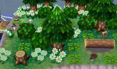(Forest) tags; acnl, acnewleaf, animalcrossingnewleaf, acnlforest