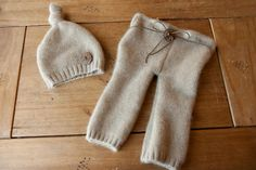 Newborn Upcycled Sweater Set - Ready to Ship