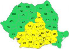 Cod galben de ger în 36 de județe - http://stireaexacta.ro/cod-galben-de-ger-in-36-de-judete/