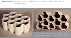 Nesting Cups by Owen Read, via Behance