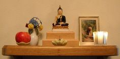 buddhist altars in the home | Home Altar example