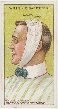 First aid / Will's cigarette card