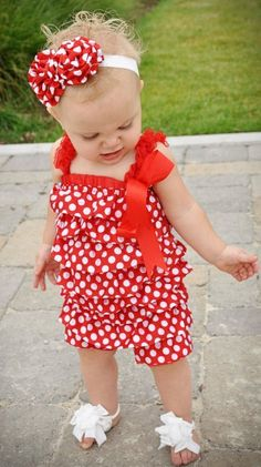 I want!!!!! Minni Mouse Pettiromper Headband Set- MANY SIZES!-wholesale minni mouse pettiromper and headband set for babies and toddlers