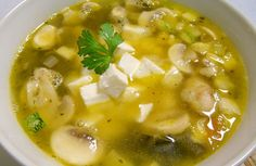 SOPA POBLANA                                                                                                                                                                                 Más Healthy Crockpot Recipes, Healthy Eating Recipes, Beef Recipes, Soup Recipes, Vegetarian Recipes, Cooking Recipes, Real Mexican Food, Mexican Food Recipes, Avacado Dinner