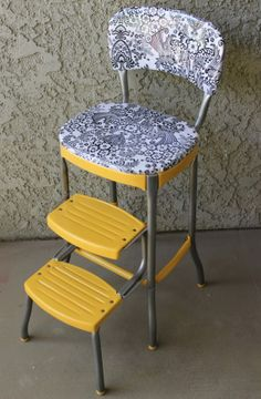 Chair Redo Upcycle And Step Stools On Pinterest