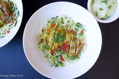 Lemongrass Chicken & Zoodles