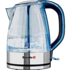 Argos Breville Crystal Clear 1L Jug Kettle at Argos.co.uk £24.99 Kettle And Toaster, Argos, Happy Birthday Me, Kettles, Crystals, Tea, Spring, Crystals Minerals, Teas