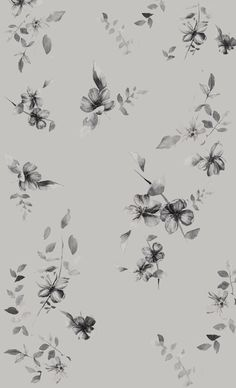 Dreamy Florals by Natalia Gemma, via Behance Textures Patterns, Print Patterns, Floral Patterns, Textiles, Conversational Prints, Scarf Design, Pattern Illustration, Small Flowers, Cool Wallpaper