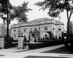 1900-John B. Ford house, located at the time at 8192 East Jefferson Avenue