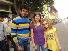 Siva Karthikeyan With his fans