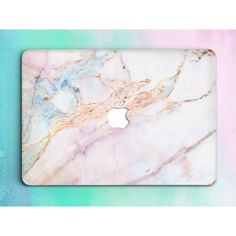 Marble Macbook 12 Case Macbook Pro Hard Case Macbook Pro Retina 13 15... ($54) ❤ liked on Polyvore featuring accessories, tech accessories, hard shell laptop case, macbook pro laptop case, laptop hard case, hardshell laptop case and laptop sleeve cases