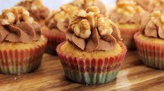 Marzipan Cupcakes Rezept als Back-Video zum selber machen! Ganz einfach Schritt für Schritt erklärt!