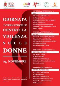 Giornata Internazionale contro la Violenza sulle Donne - 25 novembre 2017