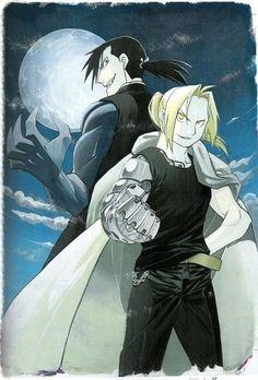 Greed and Edward Elric        _Fullmetal Alchemist Brotherhood