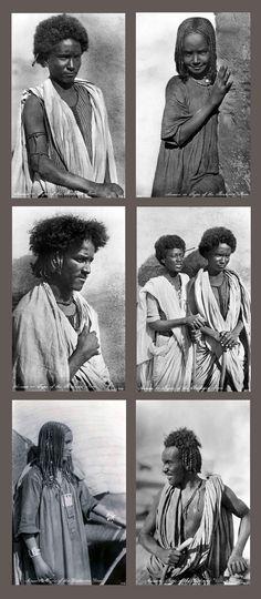 """Assuan - Type of the Bisharin Race "" || Photographers Lehnert & Landrock"
