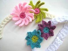 venda del bebé con las flores by jojablueberry