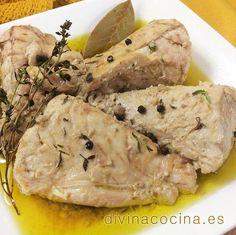 Atún confitado en aceite de oliva < Divina Cocina
