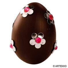 10 ideas of brown easter eggs / 10 idées d'oeufs de Pâques couleur marron chocolat