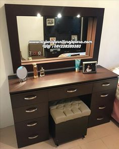 Furniture Buy Now Pay Later Code: 5707656506 Home Room Design, Pinterest Room Decor, Bed Furniture Design, Bedroom Cupboard Designs, Cupboard Design, Furniture Design, Dressing Table Design, Bedroom Furniture Design, Dressing Room Design