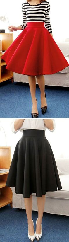 I love the skirt but not the shoes