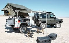 Ultimately, I'd like to build an expedition trailer like this on a Sankey.