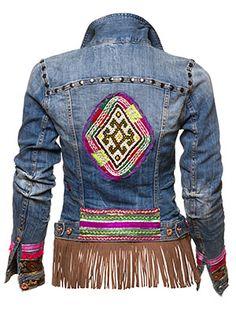 Vintage Jacket,van strech jeans,indien niet voorradig stuur je eigen jasje bel voor info ...