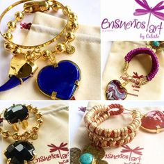 #Accesorios hechos con amor por @ensuenos diseños exclusivos #HandMade #Jewelry . Encuentra más de esta hermosa propuesta en: @ensuenos Contacto: Vical19@hotmail.com 58-4143364904 . #DirectorioMModa #MModaVenezuela #NewCollection #Accesories #Moda #DiseñoVenezolano #Latinoamerica #Worldwide