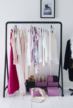 The best storage solution is often right before your eyes. Show off your favorite outfits and extend your closet space with TURBO.