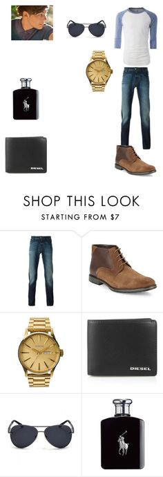"""""""Louis' outfit for day in Rio De Janeiro, Brazil"""" by onedirectionforever1297 on Polyvore featuring Jacob Cohёn, BLACK BROWN 1826, Nixon, Diesel, Ralph Lauren, men's fashion and menswear"""
