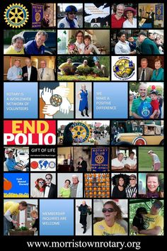Morristown NJ www.morristownrotary.org  Morristown Rotary Club is it's people.  We ARE Morristown Rotary.