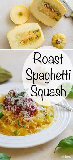 Spaghetti Squash is a great alternative to pasta if you are looking for a healthy and low-carb option. It's so easy to make and you can use it just like you would spaghetti! Easy how-to here: http://www.ehow.com/how_2087338_cook-spaghetti-squash.html?utm_source=pinterest.com&utm_medium=referral&utm_content=freestyle&utm_campaign=fanpage