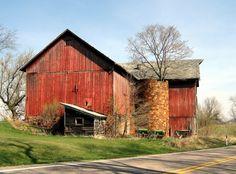 Barn in Wisconsin near Reedsburg.