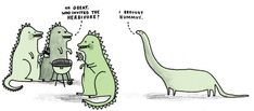 ... oh great. who invited the herbivore? ... I brought hummus