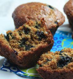 wheat germ muffins - 2