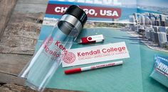 Kendall College - International Recruitment Kit Contents