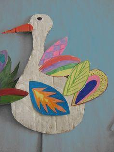 cardboard art tie to: medium Craft Activities For Kids, Projects For Kids, Diy For Kids, Art Projects, Crafts For Kids, Craft Kids, Cardboard Crafts, Paper Crafts, Fun Crafts