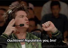 Pepper Brooks Dodgeball -Population you bro!