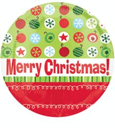 Mylar CHRISTMAS  Joy to the World Peace of Earth Winter Holiday Party Balloon