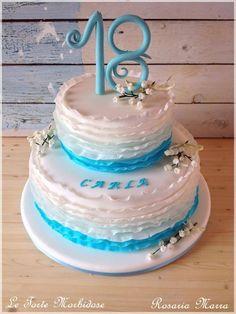 #cake #cakedesign #torta #festa #compleanno #18anni #puglia #italia #colore #fiori #flowers