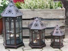 Landhaus Blog : Laternen für den Garten – stimmungsvolle Leuchten ...