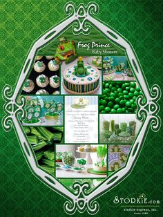 Frog Prince Baby Shower Theme Ideas