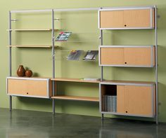 Shelving Systems: Envision | Peter Pepper Products | Expressive ...