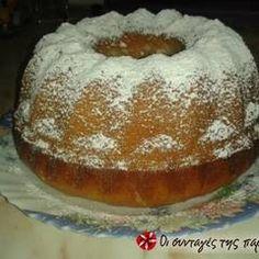 Νηστίσιμο κέικ με γκαζόζα και ινδοκάρυδο συνταγή από aeraki - Cookpad Doughnut, Tiramisu, Pudding, Breakfast, Ethnic Recipes, Sweet, Desserts, Food, Morning Coffee