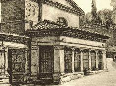 Stonebreaker Fine Art Gallery - Lithograph: Roma – San Giorgio in Velabro e L'Arco degli Argentari, $35.00 (http://www.aliciajstonebreakergallery.com/lithograph-roma-san-giorgio-in-velabro-e-larco-degli-argentari/)